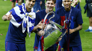 Luis Suárez, Lionel Messi and Neymar were instrumental in Barcelona's voyage to Uefa Champions League glory last season.