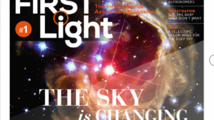 «First Light», le magazine numérique d'astronomie.