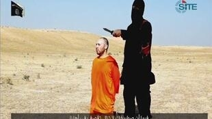 O grupo terrorista do Estado Islâmico afirma ter decapitado o americano Steven Sotloff nesta terça-feira, 2/09/14.