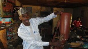 Mai sana'ar yin sassan jikin mutun Abubakar Shuaibu Abdullahi