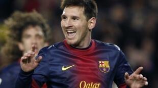 O argentino Lionel Messi concorre ao Bola de Ouro da Fifa.