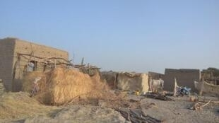 Bosso sau khi bị Boko-Haram tấn công.