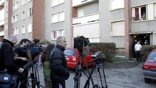 Toulouse block where Mohamed Merah was shot dead by special forces as he tried to escape.