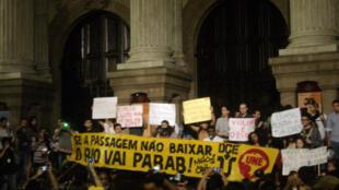 Protestos no Rio de Janeiro, 17 de junho de 2013