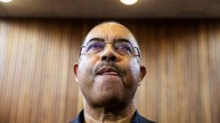 Manuel Chang, antigo ministro das Finanças de Moçambique. Tribunal de Kempton Park, na África do Sul. 8 de Janeiro de 2019.