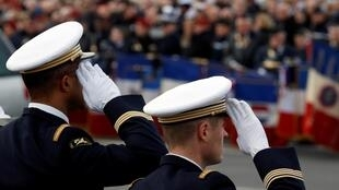 Dernier hommage aux 13 soldats français tués au Mali, le 2 décembre 2019, à Paris.