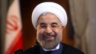 El nuevo presidente iraní Hasan Rohani.
