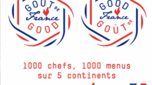 "Logo del evento ""Goûts de France/ Good France"""