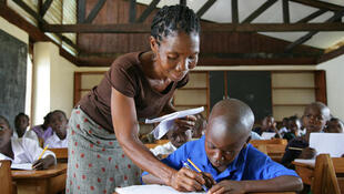 A school in Liberia