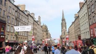 View of Edinburgh's Royal Mile
