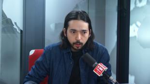 Filipe Galvon sur RFI le 2 janvier 2019.