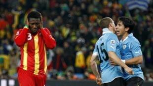 En ratant un penalty à la dernière minute, Gyan a manqué la balle de match.