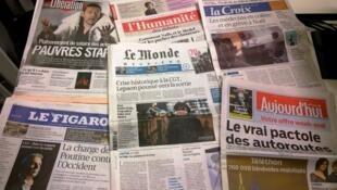 Diários franceses 05/12/2014