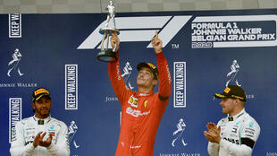 Charles Leclerc said his first Grand Prix victory was overshadowed by the death of his friend Anthoine Hubert.
