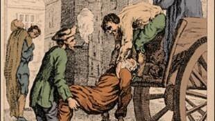 Trận đại dịch hạch năm 1665 tại Luân Đôn đã giết chết hơn 100 000 người.