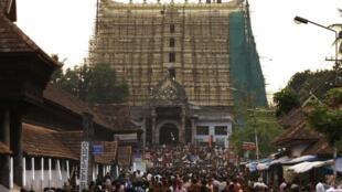 Sree Padmanabhaswamy temple where large treasure cache was found