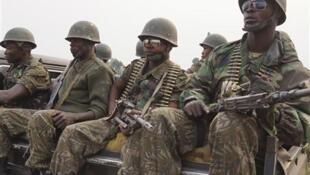 Kikosi cha askari wa DRC (FARDC) wanaoendelea kupambana dhidi ya makaundi ya waasi mashariki mwa DRC.