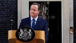 Дэвид Кэмерон объявляет о своем намерении подать в отставку. Лондон, 24 июня 2016.