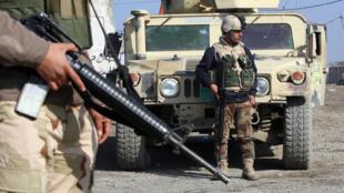 Binh sĩ Irak tại Bagdad