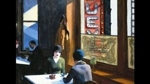 "Tranh ""Chop Suey"" của Edward Hopper - 1929 (© Private Collection)"