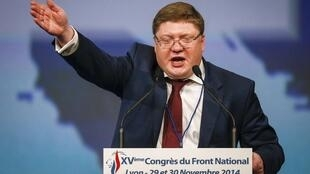 Вице-спикер Госдумы Андрей Исаев, 29 ноября 2014