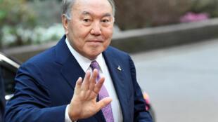 Бывший президент Казахстана Нурсултан Назарбаев