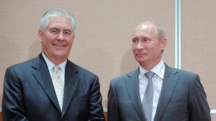 «Друзья и коллеги Тиллерсона говорят, что мало кто из граждан США ближе него общался с Путиным»