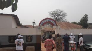 Palais Houxwe (Palais de la divinité mer) un des trois temples retenus pour la route des couvents à Ouidah.