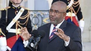 Le président des Comores Azali Assoumani veut récolter 4,2 milliards d'euros pour financer de grands projets  (image d'illustration)