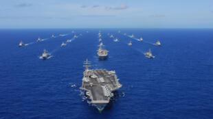 Tàu chiến Mỹ tham gia cuộc tập trận RIMPAC 2010