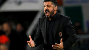 Gennaro Gattuso's AC Milan could have risen to fourth with victory at Frosinone.