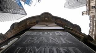 Foto del banco Lloyd's en la City, el distrito financiero de Londres, el 1/01/2020.