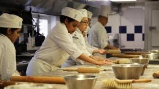 Студентки кулинарной школы Le Сordon Вleu
