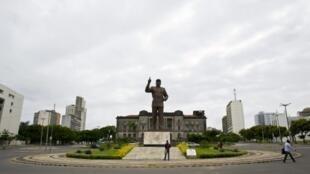 Praça da Independência em Maputo, Moçambique