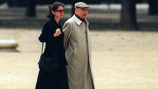 François Mitterrand  with Anne Pingeot
