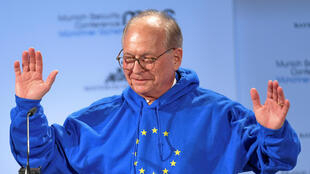 Председатель Мюнхенской конференции по безопасности Вольфганг Ишингер. 15.02.2019