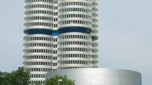 Sede da BMW na Alemanha.
