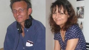 RFI's Claude Verlon (l) and Ghislaine Dupont (r) were brutally murdered in Mali in 2013. French MPs have called for the full facts of the case.