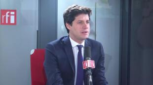 Julien Denormandie, ministre de la Ville et du logement dans les locaux de RFI, le 17 janvier 2020.