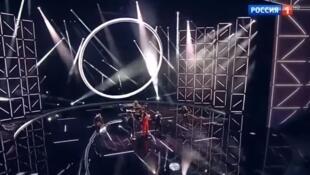 Кадр из трансляции телеканала «Россия-1»