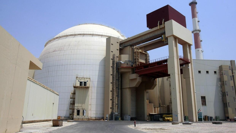 La centrale nucléaire de Bouchehr en Iran.