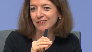 Laurence Boone, économiste en chef de l'OCDE.