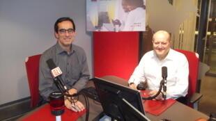 Rolf TRAEGER, chefe da secção dos PMA da CNUCED, e especialista das PMA, nos estúdios da RFI