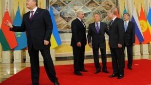 Переговоры по Таможенному союзу в Астане 29/05/2013
