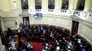 O Senado argentino discutiu na semana passada denúncias contra a ex-presidente Cristina Kirchner.