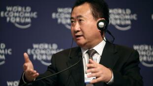 O magnata do setor imobiliário e de entretenimento, Wang Jianlin, é o homem mais rico da China.