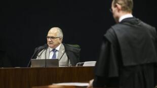 O ministro Edson Fachin no Supremo Tribunal Federal (STF). 04/12/18