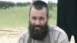 Le Suédois Johan Gustafsson était détenu au Mali depuis 2011. Ici, sur une vidéo en 2012.