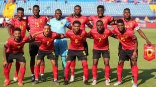 Selecção Angolana de futebol. Imagem de Arquivo.