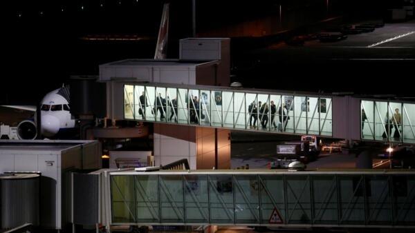 圖為倫敦希思羅機場